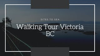 Walking Tour Victoria BC - Walking Tour Of Crescent Dr-King George Terrace & Beach Drive In Victoria