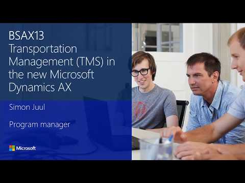 Transportation management (TMS) in the new Microsoft Dynamics AX