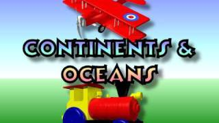 Children's: Continents and Oceans