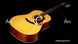 Pop Ballad Guitar Backing Track In C Major / A Minor