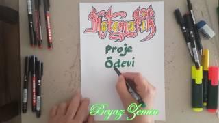 Matematik Proje Ödevi Kapağı