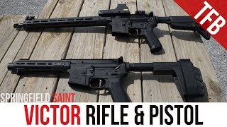 Springfield Saint Victor Rifle And Pistol Review
