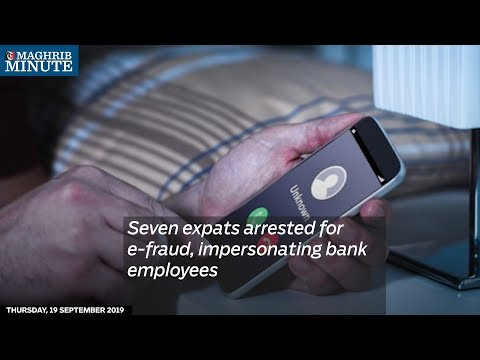Seven expats arrested for e-fraud, impersonating bank employees