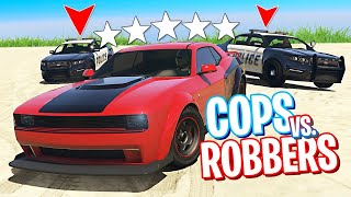 COPS AND ROBBERS!! (GTA 5 Online)