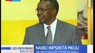 Jaji Mkuu David Maraga aongoza uapisho wa manaibu wa Inspekta Mkuu wa Polisi