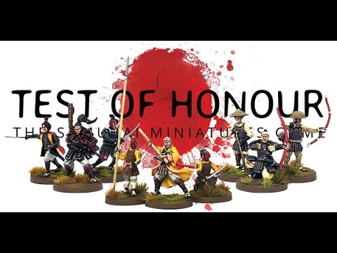 """Unboxing"" - Test Of Honour The Samurai Miniatures Game by Warlord Games (Test Of Honor)"