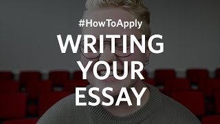 #HowToApply Writing Your College Essay
