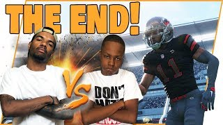 The FINAL Trent vs Juice Game Of Madden 18!