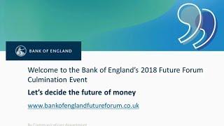 Ripple/XRP - Massive Bank of England DLT/Fintech 2019 Update - Future Of Money