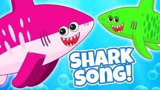 Baby Shark | Kids Songs and Nursery Rhymes For Babies |  Animal Songs by HooplaKidz
