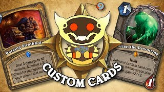 TOP CUSTOM CARDS OF THE WEEK #30 | Card Review | Hearthstone