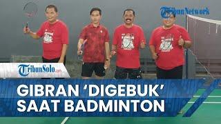 Gibran Rakabuming Raka Kena 'Gebuk' saat Tanding Badminton, FX Rudy: Itu Sudah Biasa