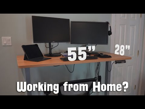 Excellent Electric Adjustable Standing Desk - Flexispot Standing Desk for Working from Home