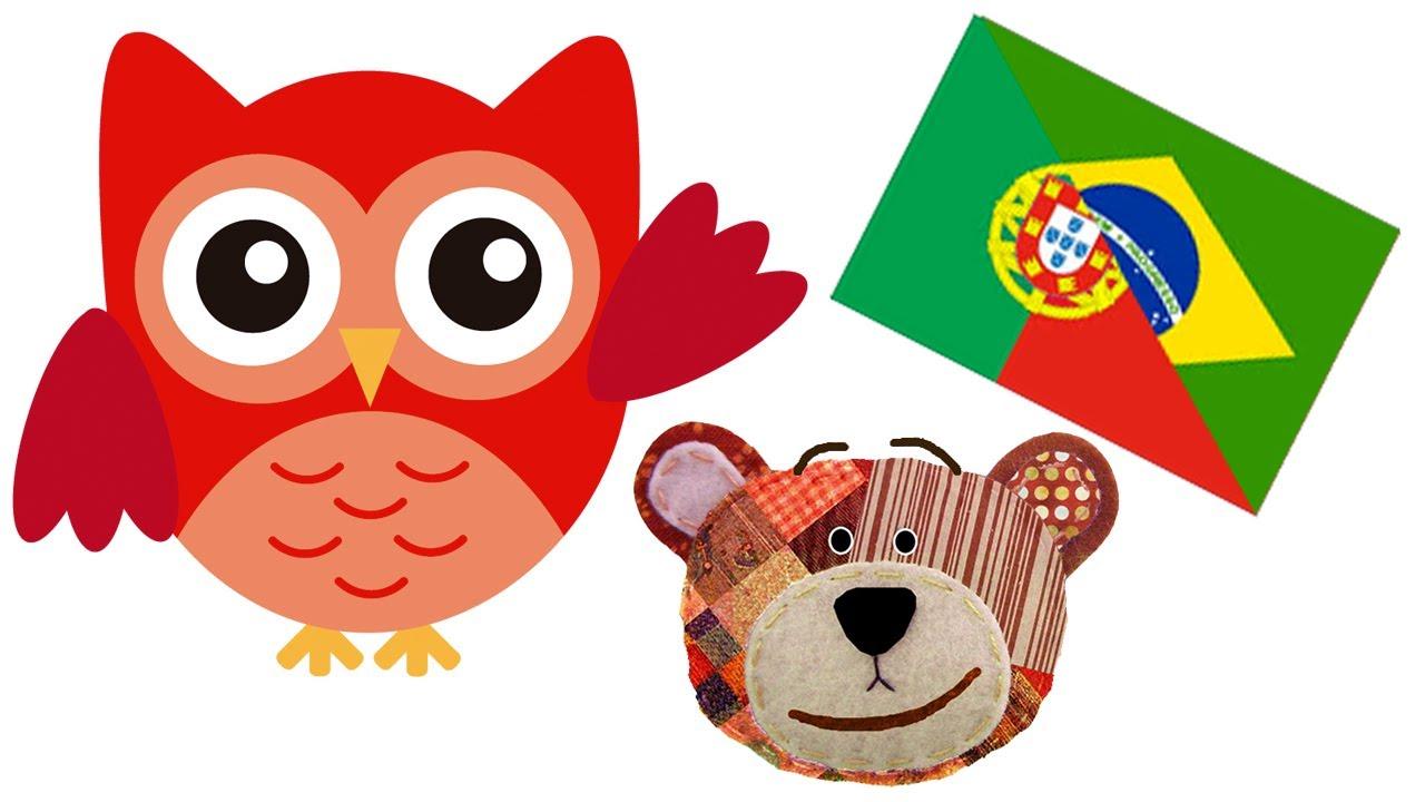 Nombres de animales del bosque - Portugués para niños