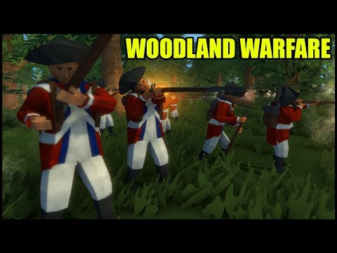 RED COATS CHAOS CHARGE! - Rise of Liberty New Update (American Revolution Battle Simulator)