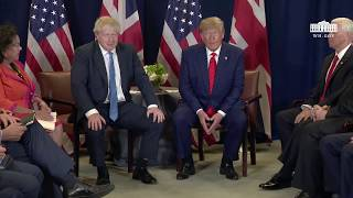 President Trump Bilateral Meeting with the Prime Minister of the United Kingdom of Great Britain