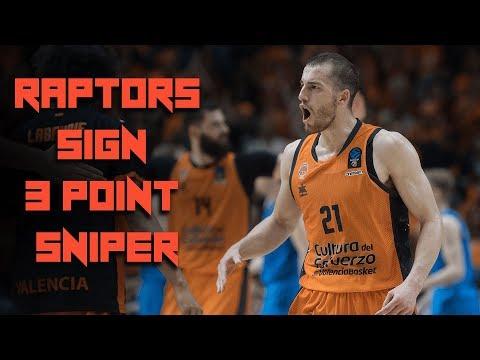 Raptors SIGN Three Point SNIPER - Toronto Brings in Matt Thomas on THREE Year Contract