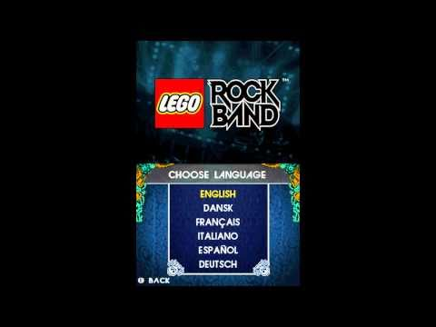 lego rock band nintendo ds song list