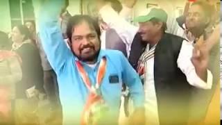 #SattaKaMahaSamar : नतीजे आ रहे है , रूझानों में कांग्रेस बना रही हैं सरकार