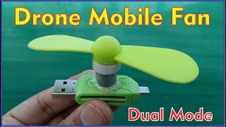 How to Make a Micro USB Fan for Mobile at Home