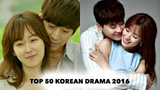 Top 50 Korean Drama Of 2016 On Mydramalistcom