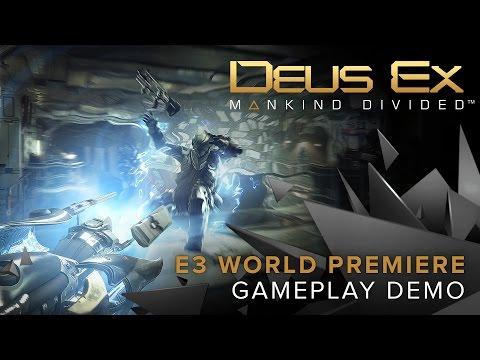 Square Enix Deus Ex: Mankind Divided - Day1 Edition (PS4, DE, FR, IT)