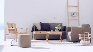 Cane-line Amaze 2-Sitzer sofa, stapelbar