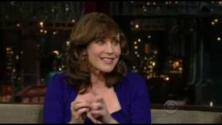 Vera au Late Show with David Letterman (2010)