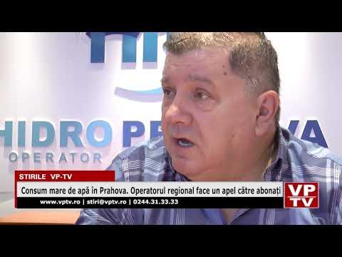Consum mare de apă în Prahova. Operatorul regional face un apel către abonați
