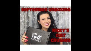 RICKY'S CULT CRUSHES| SEPT 2018 UNBOXING