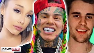Ariana Grande Accused Of CHEATING The Charts By Tekashi 6ix 9ine!