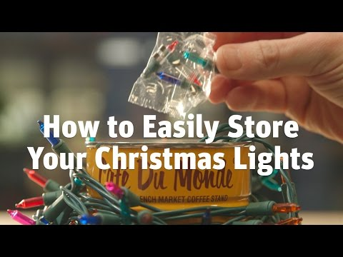 How To Keep Your Christmas Lights Tangle-Free