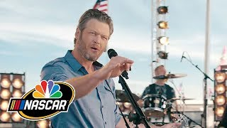 2017 NASCAR on NBC Open Featuring Blake Shelton - dooclip.me