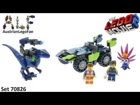 Vidéo LEGO The LEGO Movie 70826 : Le tout-terrain Rextrême de l'espace Rex !