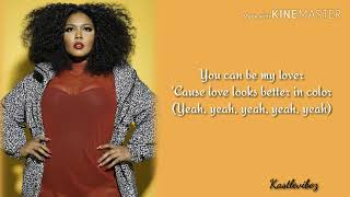 Lizzo   Better In Color (Lyrics)