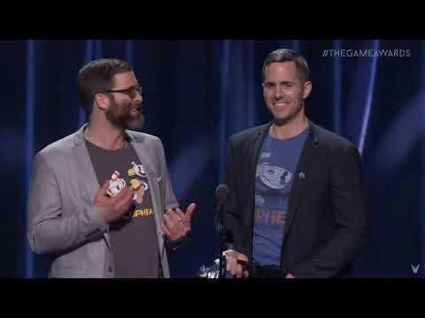 Cuphead Awarded by Hideo Kojima & Aisha Tyler