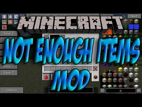 Minecraft 1.7.10 - Como Instalar NEI (Not Enough Items) MOD - ESPAÑOL [HD] 1080p