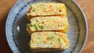 [SUB] 두툼한 계란말이 : How to make Egg rolls : tamagoyaki : 꿀키