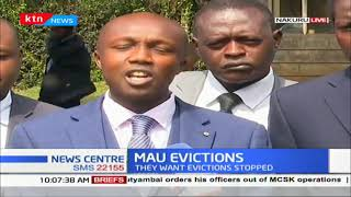 Mau Eviction: Lawyers seek to be enjoined in case, they want eviction stoppped