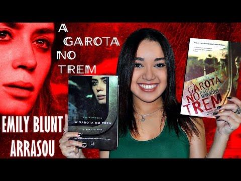 A GAROTA NO TREM (THE GIRL ON THE TRAIN) | LIVRO x FILME | Magia Literária