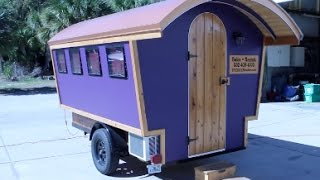 Gypsy Tiny House Can Be Towed By a MINIVAN!