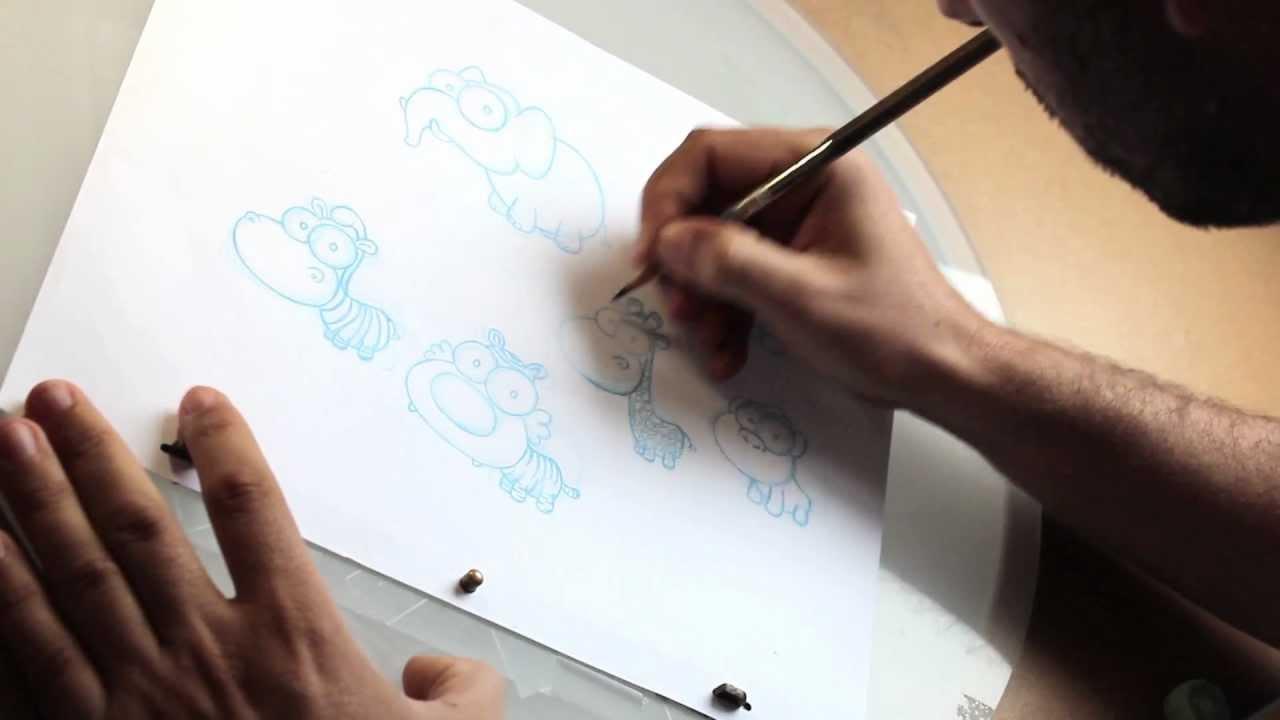 Cómo se hacen los dibujos animados.
