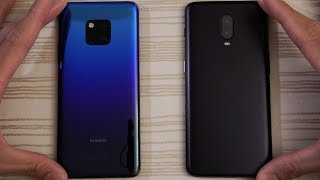 Huawei Mate 20 Pro vs OnePlus 6T - Speed Test!