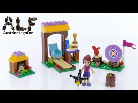Vidéo LEGO Friends 41120 : Tir à l'arc à la base d'aventure