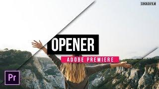 Create a Title Opener in Adobe Premiere | Tutorial