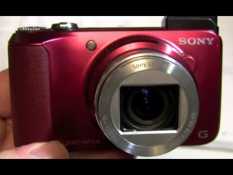 Sony Cyber shot DSC-H90 Review!