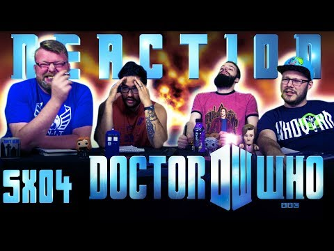Doctor Who 5x4 REACTION!!