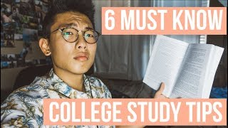 How To Prepare For College Courses | 6 Must Know Study Tips