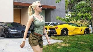 O estilo de vida de Scarlett  Johansson