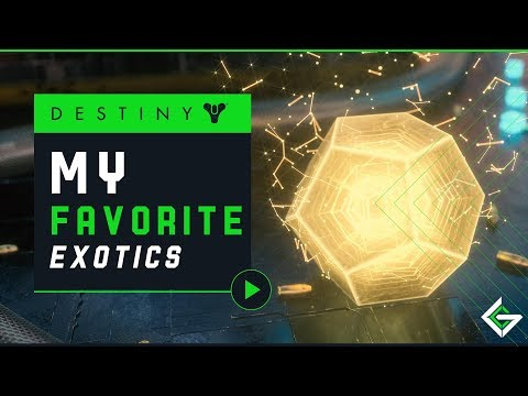 My Favorite Exotic Weapons in Each Slot | Destiny 2